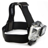 Elastic Adjustable Head Strap with Simple Anti Slide Glue For Gopro