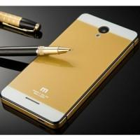 Xiaomi Redmi Note 2 - Aluminium Tempered Glass Hard Case