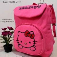 Jual tas sekolah hello kitty - ransel anak perempuan - tas lucu harga murah Murah