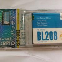 Baterai Lenovo Bl208 Double Power Garansi 6 Bln Scorpio S920 S 920