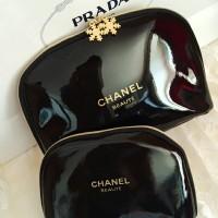 Cosmetic Pouch / tas makeup / tempat makeup beauty case CHANEL