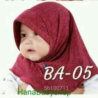 Jilbab Bayi Baru Lahir 0 - 2 Tahun Hijab Kerudung Anak Lucu 1 new born