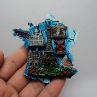 oleh oleh online souvenir tempelan kulkas perancis