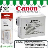 Battery Canon LP-E8 for EOS 550D, 600D, 650D, 700D, Kiss X4