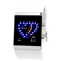 Trend Fashion SKMEI LED Casual Unisex Fashion Watch Water Resistant