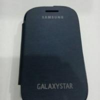 Flip cover Samsung Galaxy Star s5280 / s5282 biru tua