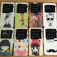 harga Xiaomi Redmi Note 2 / 2 Prime Flip Standing Cartoon Silicon Case Tokopedia.com