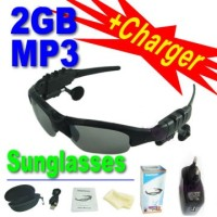 MP3 Sunglasses / Kacamata Mp3 2GB Model Sporty Trendy