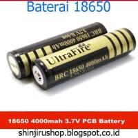 UltraFire Baterai 18650 4000mAh