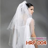 Jual Kerudung Pesta Pernikahan - HRP 004 Murah