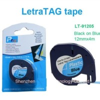 harga Label Letratag Dymo Biru - Blue Plastic Tapes for LetraTag Tokopedia.com
