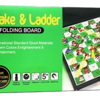Game Keluarga,ular tangga magnet,SNAKES AND LADDER MAGNETIC BOARD
