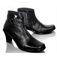 harga Sepatu Boot Kulit Wanita Cewek Kantor Kerja Formal Pantofel Fm-6704 Tokopedia.com