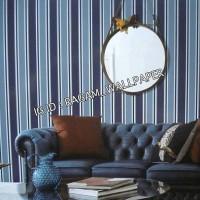 Wallpaper Dinding Kamar Tidur Motif Line Minimalis MODERN TIMES MS1016