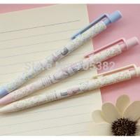 Mechanic Pensil Flower Pensil Mekanik Otomatis Bunga Pastel