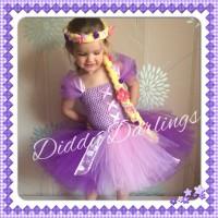 Tutu Dress - Princess Rapunzel