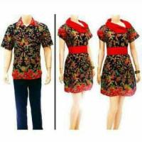 Batik Sarimbit Couple Dress