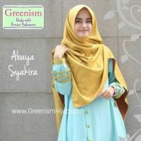 Gamis Kerja, Gamis Syar'i Abaya Syakira by Greenism Hijab Modern