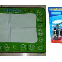 Aquadoodle set with Thomas stamps