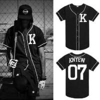 Baju Hip hop Baseball