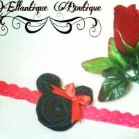 bandana bayi / bandana mickey mouse / headband