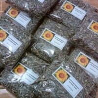 Jual 250gram benih bunga matahari kuning Murah