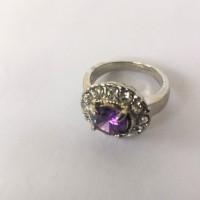 harga Cincin Wanita Crystal Cubix Swarovski Element Ungu (cwcubix17) Tokopedia.com