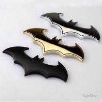 3D Batman Emblem Full Metal Sticker Arkham Origins SuperHero Car Logo