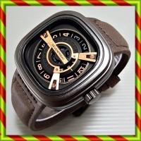 Sevenfriday M2 Darkbrowngold | Jam Tangan Rolex Guess Swiss Army