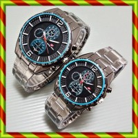 Swiss Army Couple Rustic Black Blue | Jam Tangan Cople Sepasang Rolex