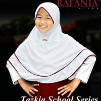 Jual Kerudung Bergo Jilbab Anak Sekolah Usia Kelas 4-6 SD TAZKIA Rafania Murah