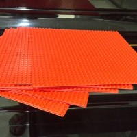 lego base plate red original 32x32
