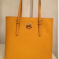 Michael Kors Jet Set Travel Large North South Tote - Saffiano Leather