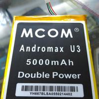 Baterai Batre Smartfren Andromax U-3 U3 Innos Dobel Power Mcom 5000mah