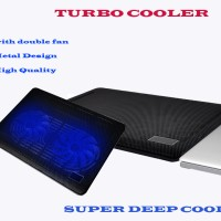 Cooling Pad _ kipas laptop _ Coolpad Coolingpad _ Turbo Cooler