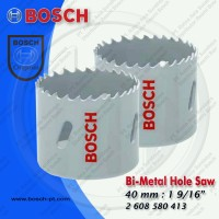 Bi-Metal Hole Saw 40mm : 1 9/16 Part Number 2 608 580 413