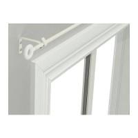 BEST SELLER IKEA IRJA Set batang gorden, putih,140 cm