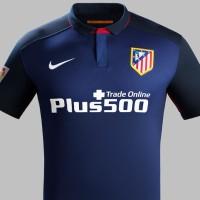 Kaos Kostum Jersey Sepak Bola Grade Ori Atletico Madrid Away 2015 2016