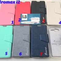 Andromax I2 Smartfren Wallet Executive Sarung Jelly Soft Case Silikon