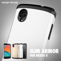SPIGEN SGP CASE SLIM ARMOR CASING LG NEXUS 5 AKSESORIS ANTI SHOCK UNIK
