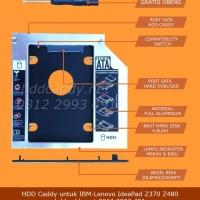 harga HDD Caddy untuk IBM-Lenovo IdeaPad Z370 Z480 Tokopedia.com
