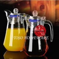 Pitcher Luminarc Arc Jug, Teko Eskan, Glass Jug 1.3L