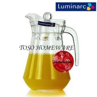 Luminarc Arc Water Jug 1.3Ltr With Lid, Pitcher, Eskan, Teko,Glass Jug