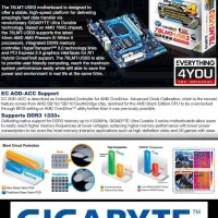 GIGABYTE GA-78LMT-USB3 the AMD AM3 760G Motherboard
