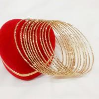 Gelang Keroncong Gold Isi 12 pc (xuping perhiasan lapis emas )