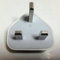batok charger kepala kaki 3 original apple iphone 5/5s/6 ipad