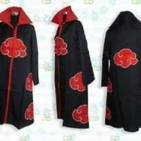 harga Jubah Akatsuki Naruto Jas Cloak Jaket Import Cosplay Kostum Costume Tokopedia.com