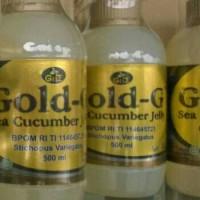 Jual Gold G Jelly Gamat tutup coklat Murah