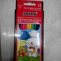Pensil 12 Warna Joyko