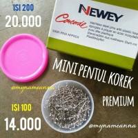 harga Isi 100 Mini Jarum Pentul Korek Wijen Premium Newey Concorde Tokopedia.com